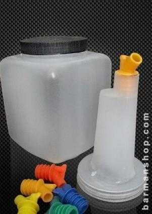 2lts Juice Container (square base)